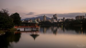 Ohori Park by LunaFeles