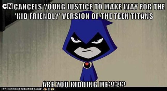 YOUNG JUSTICE GETS CANCELLED! by Chillguydraws