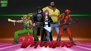 Skratchjams- The Defenders by Manu-G