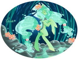 Lotus Pond - Dancing with the stars by Clarichi