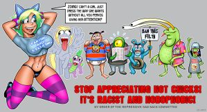 Stop Objectifying Sluts by curtsibling