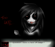 Ask Jeff The Killer Question 1 by AskingJeffy