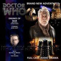 Doctor Who Engines of War CD Cover 1 by jakepayne1994