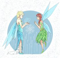 Frozen: Secret of the Wings by guardian-angel15