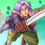 Trunks Dragon Ball Xenoverse by cinnie