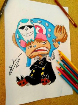 One piece !! Chopper :D by salemboussif