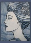 Tree Geisha print by khallion