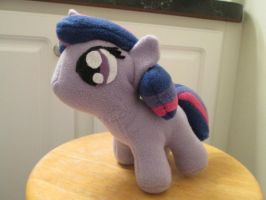 Filly Twilight Plushie - Angled Side View by pyrmappege