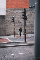 Crossing the road by sican