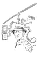 Inspector Gadget by rodcrison