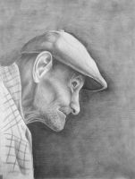 Old man is watching you by mfs1