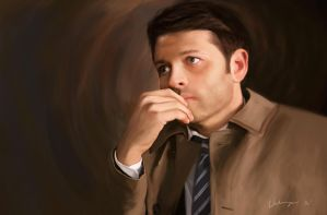 Castiel by RussianVal