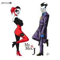 Mr and Ms J by RickCelis