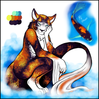 Koi Kitty by Queen-Heaven