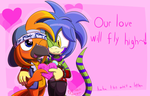 A quick obligatory Valentines pic by Feline-gamer