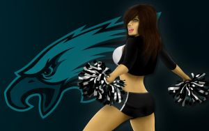 Cheer Eagles by Encho
