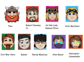 What Happens When I Give My Dad Yogscast Icons... by EpicRainbowPanda