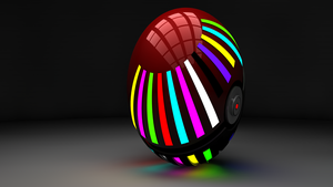 3D Pokeball Version 3.1 by ryanr08