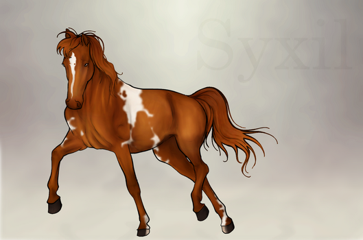 Ine'ril - Our Glory - Belvidere Stables Mascot by ParadoxSketchbook