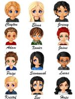 Otherworld Chibis by Manda5