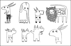animals by macen