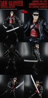 Custom Ian Glover Vampire Hunter Action Figure by MintConditionStudios