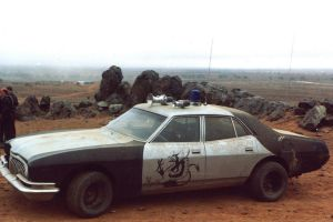 Mad Max The Road Warrior Ford Fairlane ZG 1 by MALTIAN