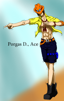 Portgas d ace by HieiSQueen