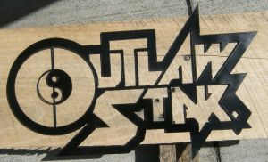 outlaw star logo by metal-otaku