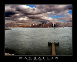 Manhattan II by tversteeg