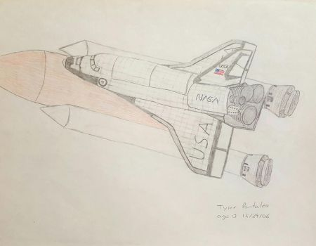 Full space shuttle configuration by Blazinghalo