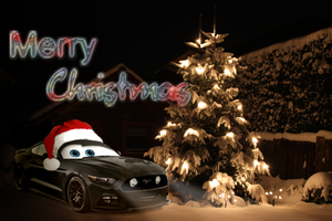2015 Ford Mustang - Christmas ID by CynderxNero