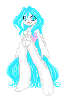 pixel doll Coral by Dr-Innocentchild