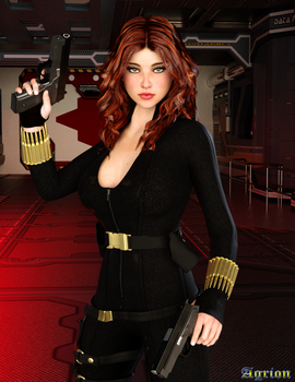 Black Widow by Agr1on