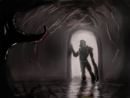 Quake -Rangers decent into darkness by Helios437