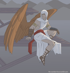 Wing!AU Altair by Kuronyo