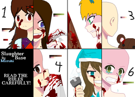 SLAUGHTER TIME [collab] by LollipopCookie