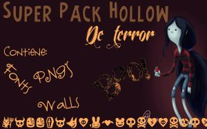 Superpack Hollow de Terror by MileHollow