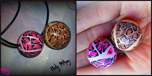 Leopard beads! by Intellexia