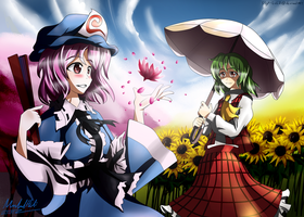 Touhou - Flower Ladies by SSgt-LuLZ