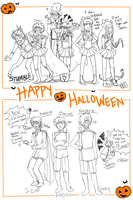 Halloween Extravaganza by DubiousCompany