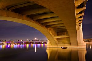 Tempe Town Lake by knold