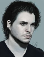 Kit Harington by Enmie
