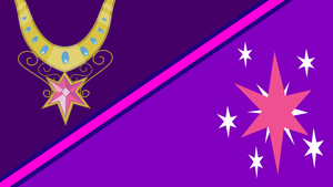 Twilight Sparkle Magic Wallpaper (Simple version) by Game-BeatX14