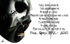 Paul Gray Slipknot by Wild-Theory