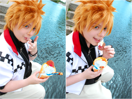 Roxas - Delicious ~ by Millahwood