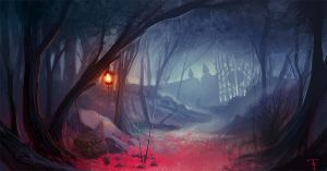 Pink Forest. by ArtofTy
