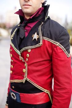 Front of Uniform (close up, left side) by citizenkaneV
