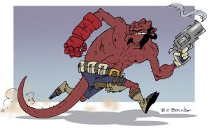 ANOTHER Hellboy by ATLbladerunner