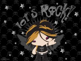 Rock Girl by mictlantectli